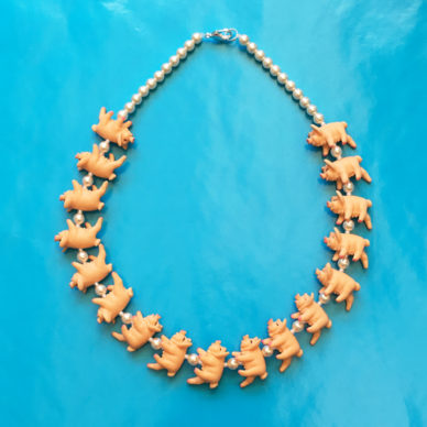 necklace pig OK 72