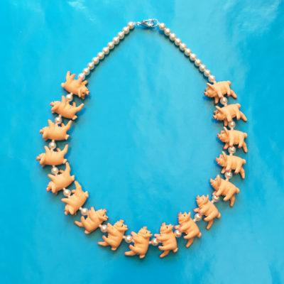 necklace pig OK 72