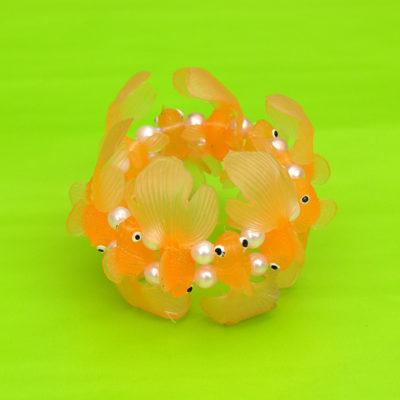 bracelet fish orange 72