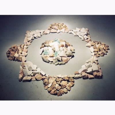 mandala stenen binnen 72