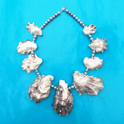 necklace oyster grey 1 72