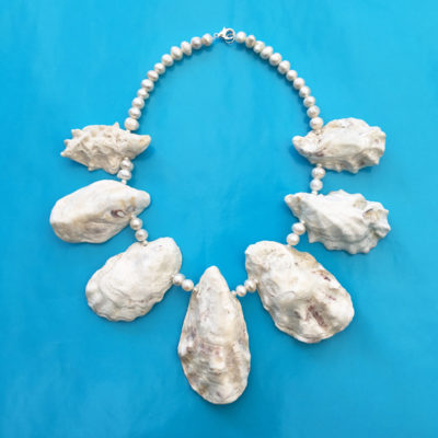 necklace oyster white 3 72