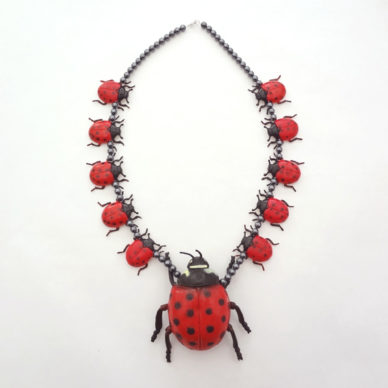 necklace ladybird XL 72