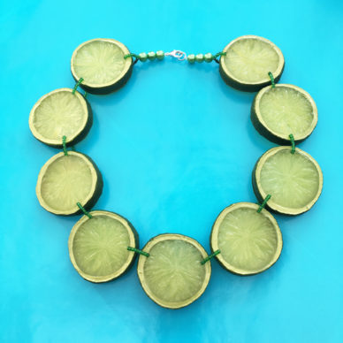 necklace lime 72
