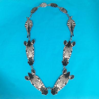 necklace animal zebra vk 72
