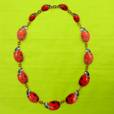 necklace lam lady bird 72