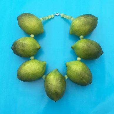 necklace lemon XL 7x 72
