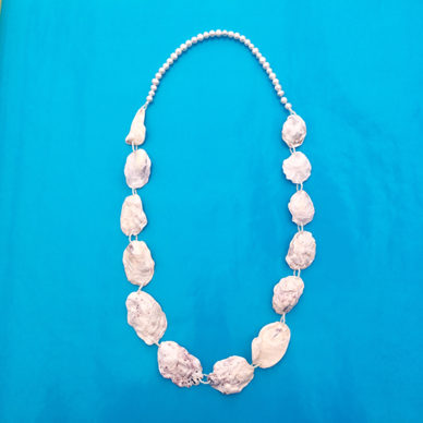 necklace oyster long 72