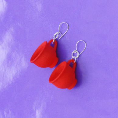 3D earring cup red ok 72
